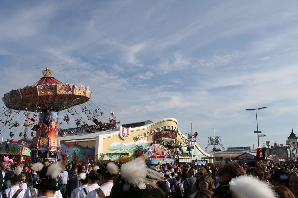 Oktoberfest Spaten and carrousel