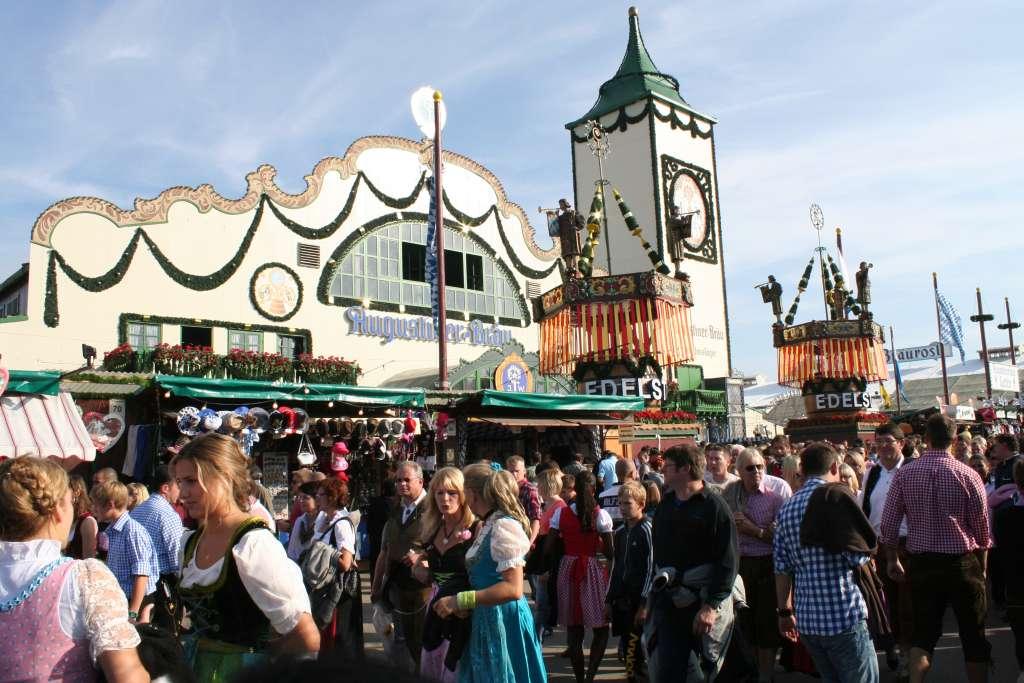 Oktoberfest beer- Augustiner Tent