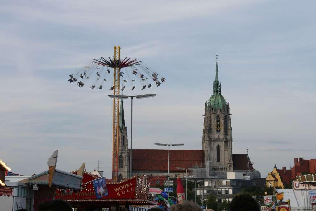 Oktoberfest carrousel